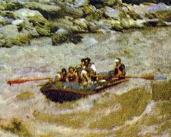 Фото №1 - Плоты на «белой воде»