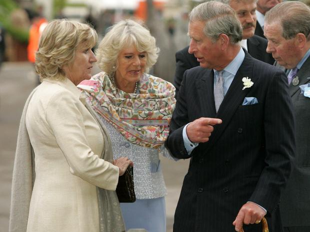 Фото №1 - Дотошный принц: что Чарльз не поделил с сестрой герцогини Камиллы