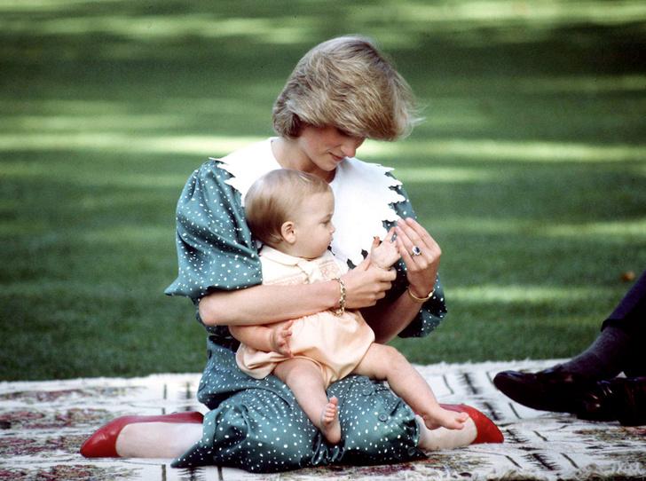 Фото №5 - История в фотографиях: какой мамой была принцесса Диана
