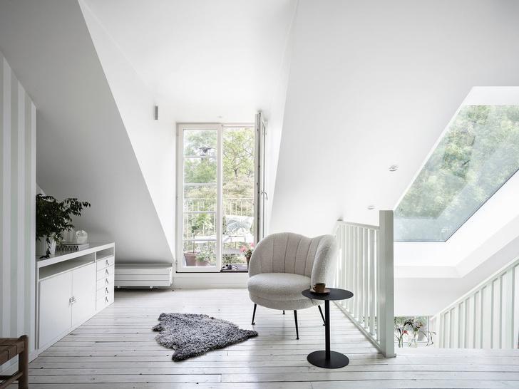Фото №15 - Уютная квартира с мансардой в Швеции