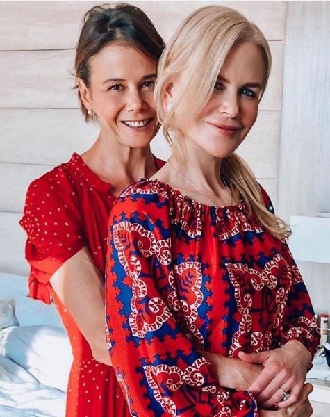 Николь Кидман с сестрой