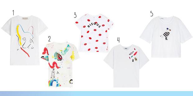 Фото №2 - Toп-20: Яркие футболки для лета