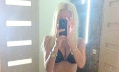 Дочь Анастасии Заворотнюк разделась в «Твиттере»