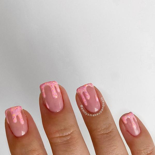 Фото №5 - Креативный маникюр на короткие ногти: 9 стильных нейл-дизайнов