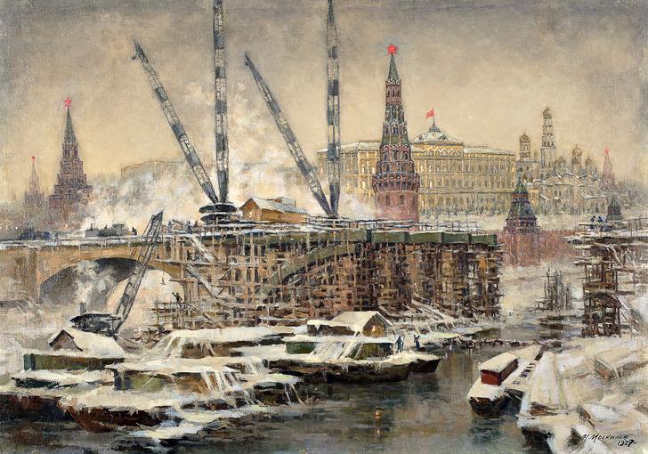 Фото №2 - Выставка «Большой Каменный мост»в Музее Москвы