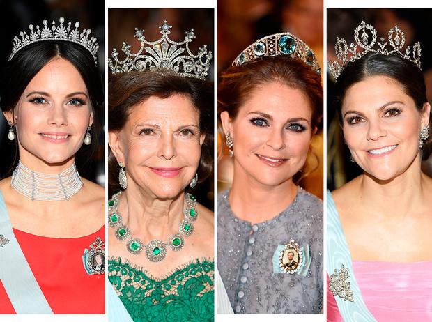 Фото №1 - От бижутерии до бриллиантов: тиары шведской королевской семьи