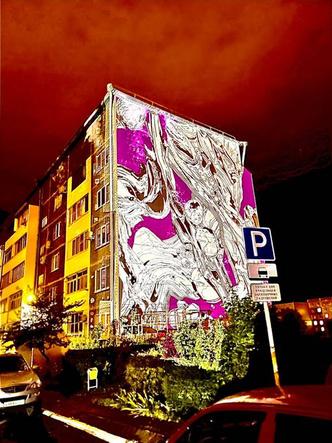 Фото №3 - Искусство на улицах: что нужно знать о новой работе Саши Купаляна «Душа воды»