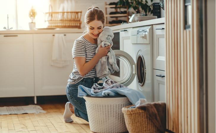 Фото №1 - Как и зачем чистить стиральную машину: лайфхак от мамы-блогера
