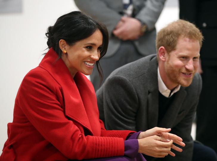 Фото №1 - Как Меган и Гарри поздравили принца Луи