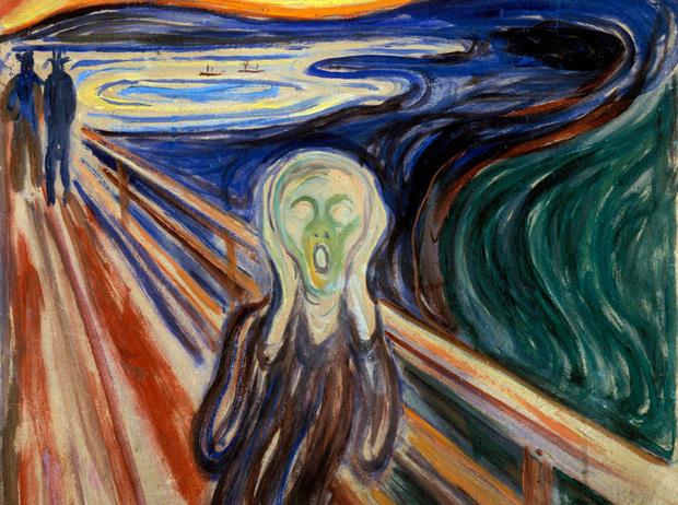Фото №1 - Самая тревожная картина в мире: как создавался «Крик» Эдварда Мунка