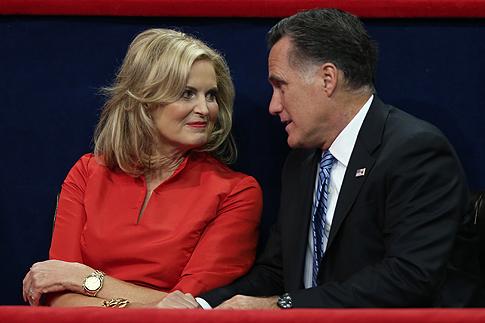 Митт Ромни (Mitt Romney) и Энн Ромни (Ann Romney)