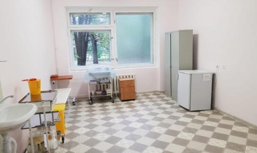 Фото №1 - Боткинские «бараки» дождались ремонта. Начали с покраски стен