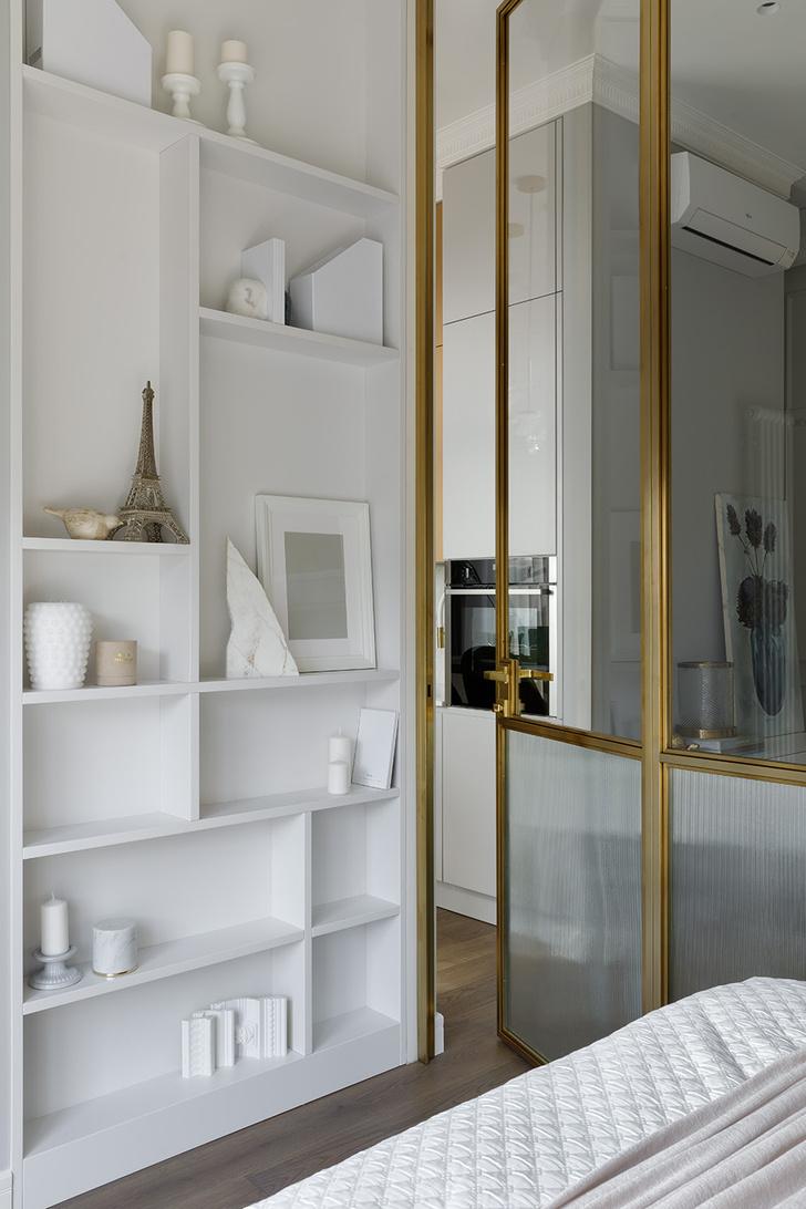 Фото №10 - Светлая просторная квартира площадью всего 40 м²
