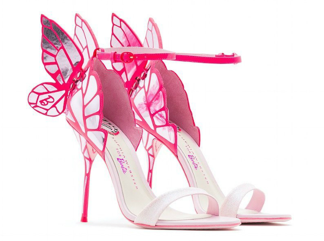 Фото №2 - Dreams come true: обувь в стиле Барби от Софии Вебстер