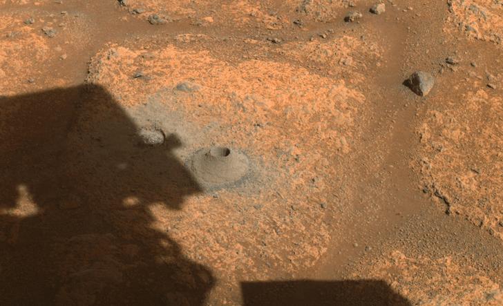 Фото №2 - Ровер Perseverance не смог взять образцы марсианского грунта
