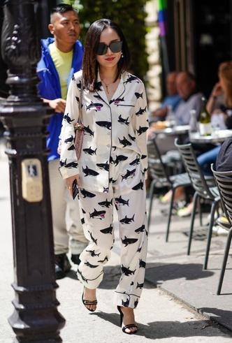 Фото №6 - Модная униформа: как носить пижамы вне дома (и даже в офис)
