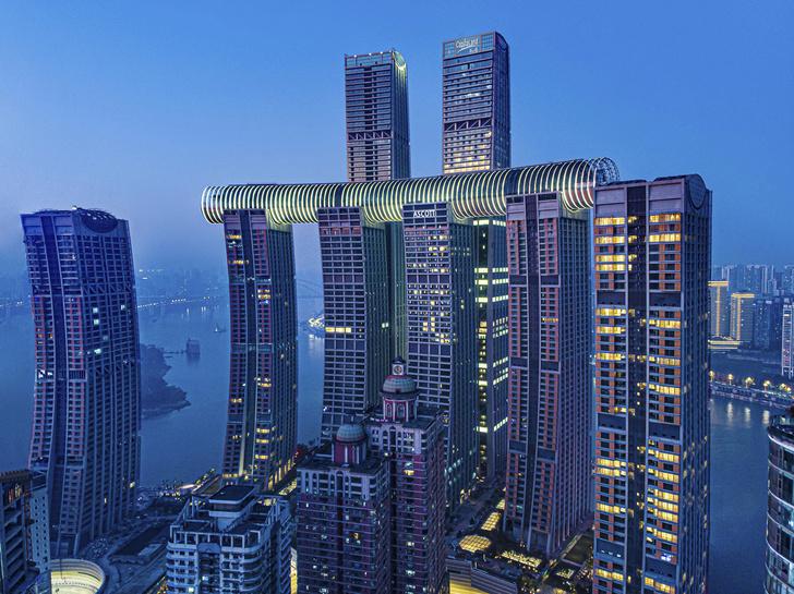 Фото №7 - Горизонтальный небоскреб в Чунцине