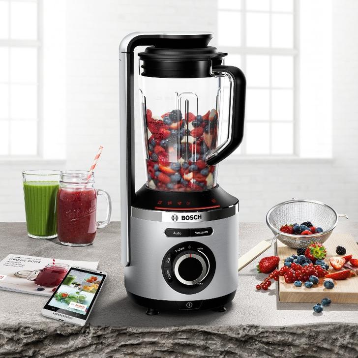 Фото №1 - День на максимум с Bosch VitaMaxx: новый вакуумный блендер наилучшим образом сохраняет продукты свежими, вкусными и полными витаминов