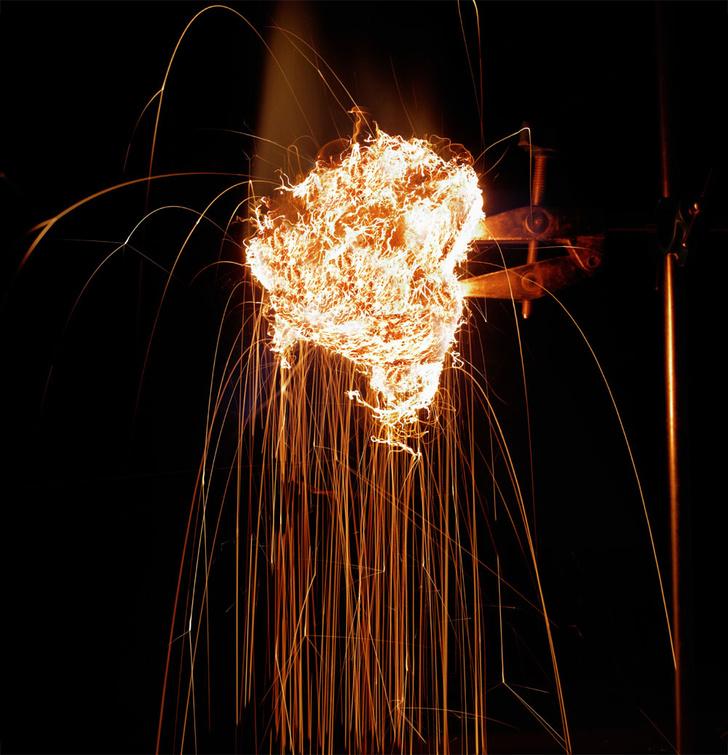 Фото №1 - Опыт: огнем и железом