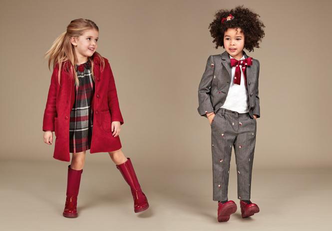 Фото №6 - Модные школьники: детская коллекция Dolce&Gabbana осень-зима 16/17