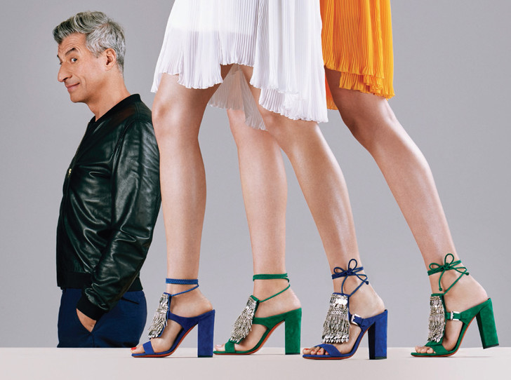 Фото №1 - Mamma mia: Маурицио Кателлан в рекламной кампании Santoni