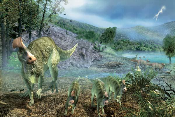 Фото №1 - Гадрозавры на Амуре
