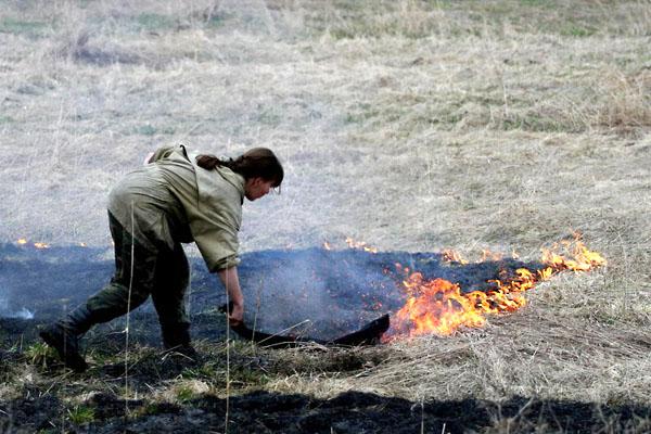 Фото №2 - Мокрыми штанами по лесному пожару