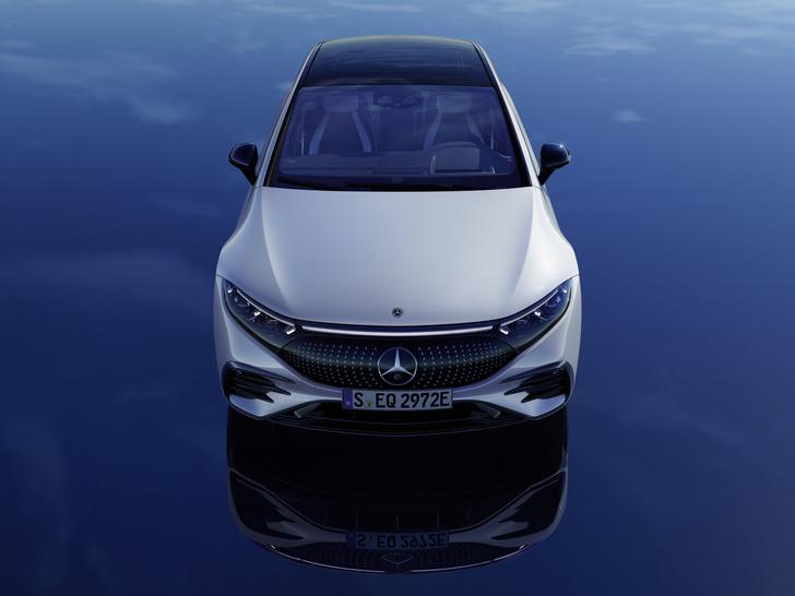 Фото №3 - Mercedes-Benz представил электрический S-класс, который вообще не похож на Mercedes-Benz