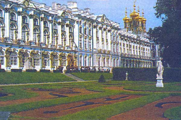Фото №1 - Янтарный кабинет