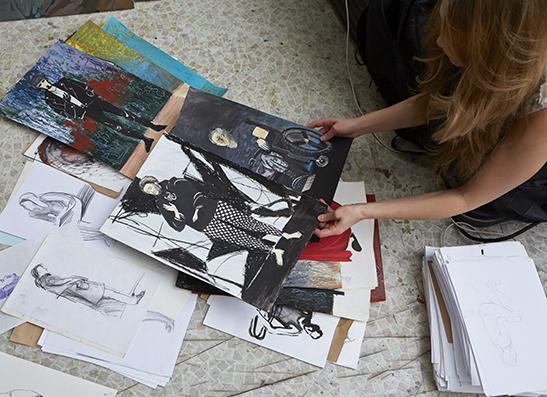 Ира Ромашко,24, художник, сценограф