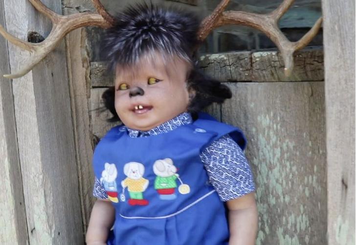Фото №3 - Настоящая жуть: женщина создает кукол младенцев с зубами животных…и не только