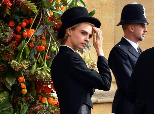 Фото №1 - Самые стильные гости на свадьбе принцессы Евгении и Джека Бруксбэнка