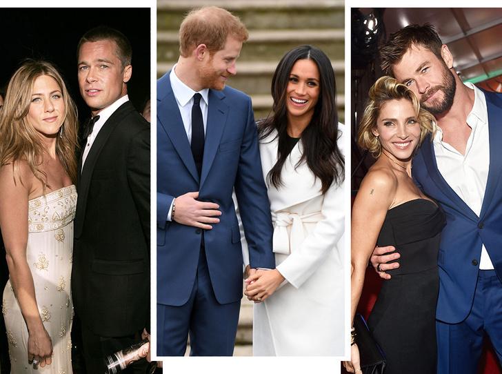 Фото №1 - 7 звездных пар, которые познакомились на свиданиях вслепую