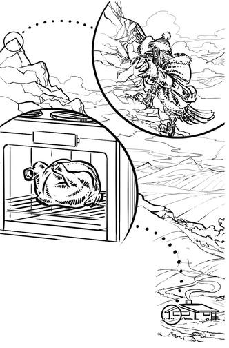 Фото №2 - Курица с горы Сноудон