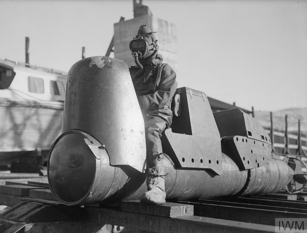 Chariot Mk 1 без боеголовки, 3 марта 1944 года