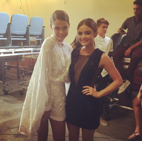 Фото №2 - Звездный Instagram: Teen Choice Awards 2015