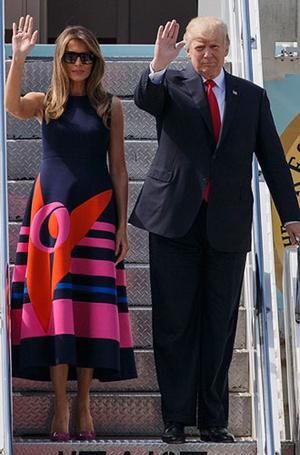 Фото №5 - 5 ложек дегтя: почему стиль Мелании Трамп не так хорош, как кажется