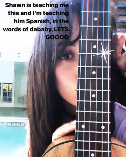 Фото №1 - Perfect teacher: Камила Кабелло учит Шона Мендеса испанскому языку