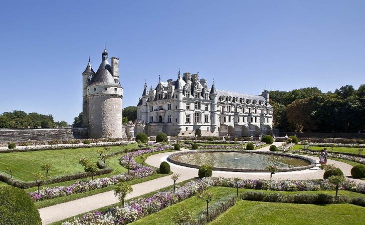 Фото №8 - 5 знаменитых замков Франции
