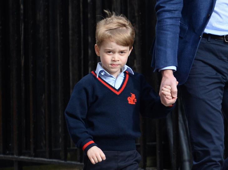 Фото №1 - Что принц Джордж будет изучать в школе в этом году