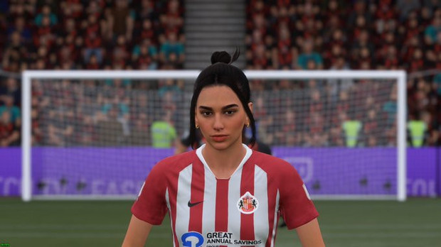 Фото №1 - Повод полюбить футбол: Дуа Липа стала персонажем видеоигры FIFA 21