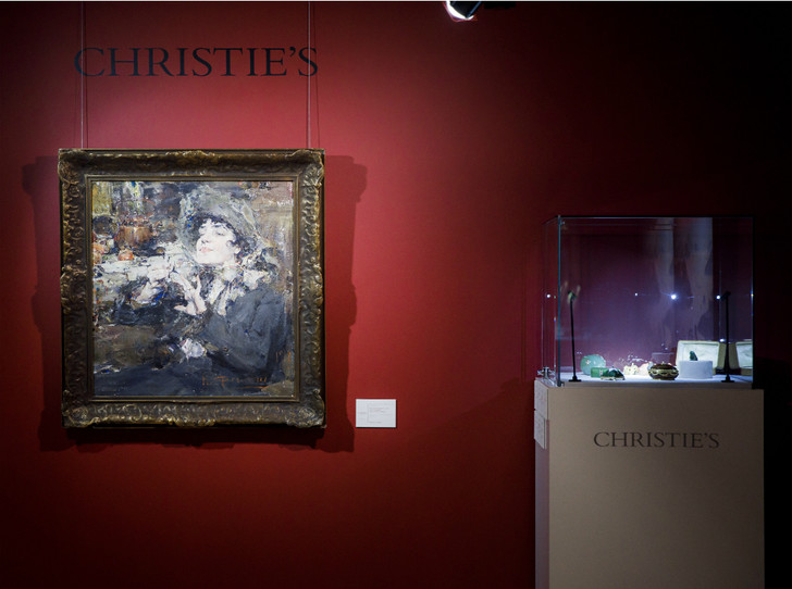 Фото №1 - Полвека искусства: самые яркие моменты в истории аукционного дома Christie's