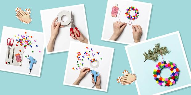 Фото №13 - Делаем новогодние украшения своими руками