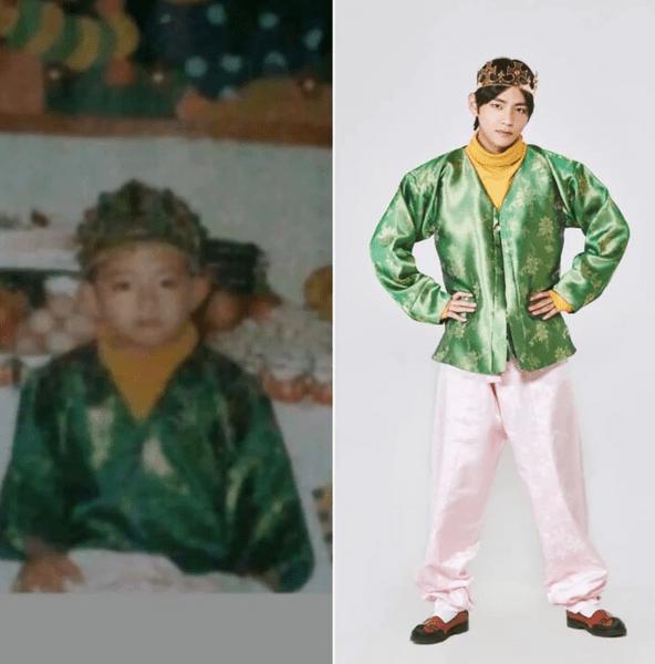 Фото №2 - Милота дня: BTS воссоздали свои детские фотографии