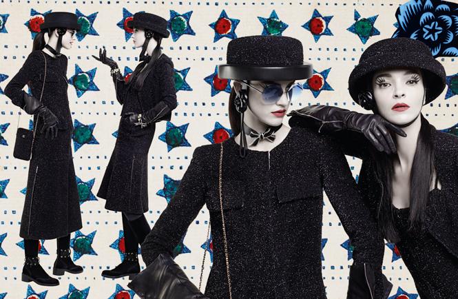 Фото №13 - Коллажи Карла Лагерфельда: креативная кампания Chanel FW 16/17