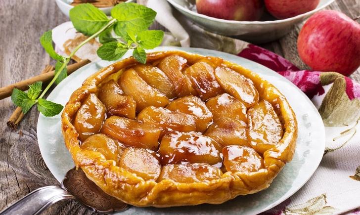 Фото №1 - Парижский яблочный пирог: история и рецепт