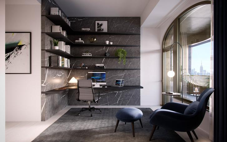 Фото №3 - Апартаменты по дизайну Дэвида Аджайе и Aston Martin
