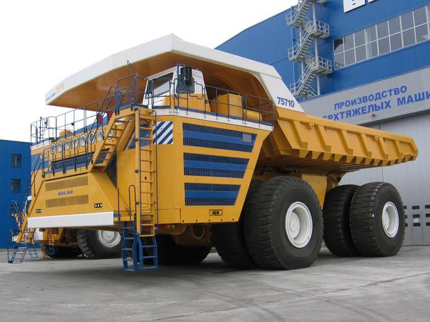 Фото №2 - БелАЗ-75710— наш самый большой в мире грузовик