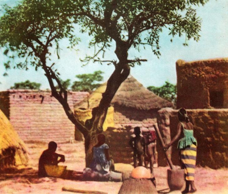 Фото №1 - Полдень в малийской деревне
