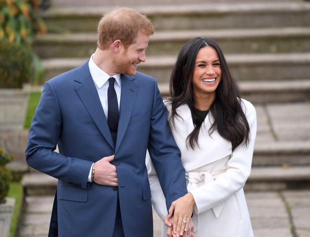 Фото №2 - Их модные Высочества: лучшие парные образы Меган и Гарри